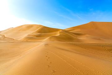 Dunhuang mingsha mountain desert scenery