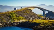 The Atlantic Road In Norway