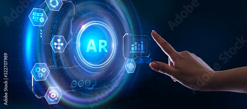 Photo Ar, augmented reality icon