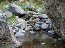Small Water Stream At Ravine O...