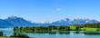 Herrliche Natur am ostallgäuer Alpenrand im Frühling