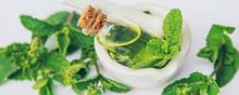 Medicinal Herbs. Selective Focus. Medicine And Health.