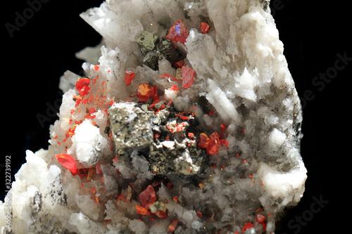 Photo realgare mineral texture