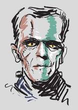 An Illustration Of Frankenstein's Monster