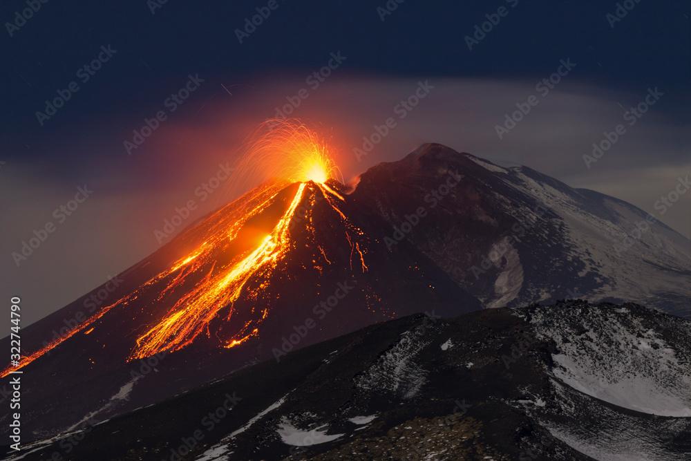 Fototapeta Etna