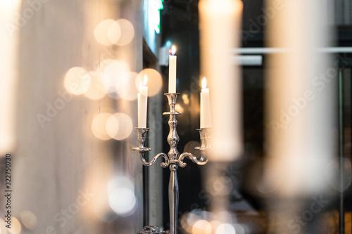 Foto Kerzen, Kerzenständer, Kerzenleuchter