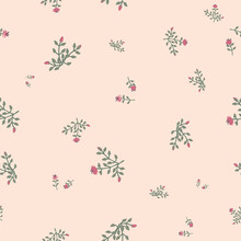 Ditsy Floral Seamless Vector P...