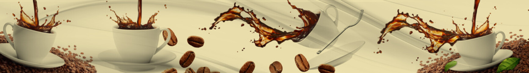 abstract coffe   abstrakcyjna kawa