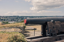 Cannon At The Pendennis Castle...