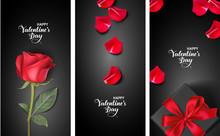 Set Of Valentines Day Design...
