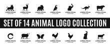 Set Of Best Animal Logo Collec...
