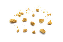 Scattered Crumbs Of Butter Coo...