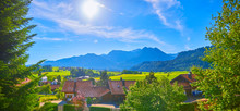 Beautiful Mountain Panorama Fr...
