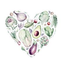 Vegetables Healthy Green Organ...