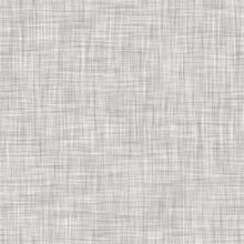 Natural White Gray French Woven Linen Texture Background. Old Ecru Flax Fibre Seamless Pattern. Organic Yarn Close Up Weave Fabric For Wallpaper.  Ecru Greige Cloth Textured Canvas.