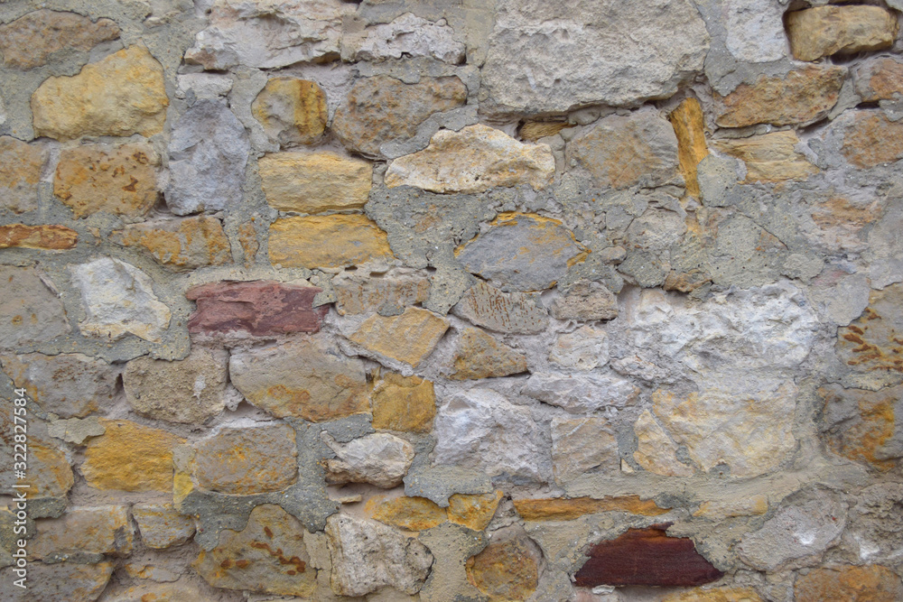Stone wall texture background, Rock