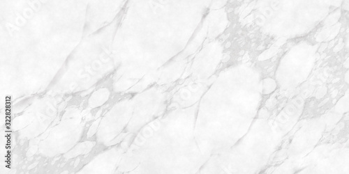 White marble texture, decoration, background. Canvas Print