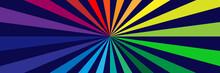 Radial Stripes Background