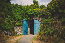 Doors To The Half-Moon Battery Tunnel