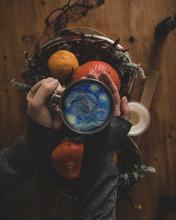 Van Gogh Tea Pumpkins Fall
