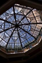 Dome At Interior Of Casino The...