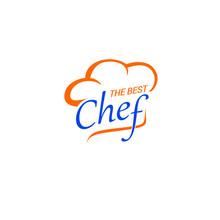 Kitchen Chef Logo Template. Lo...