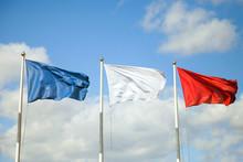 The Three Flags (blue, White, ...