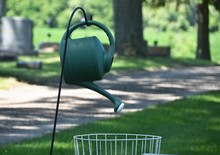 Watering Can On Hook