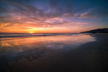 Wonderful Sunset Over Playa Grande, Costa Rica