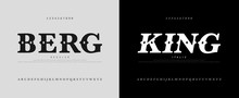 Classic Luxury Alphabet Logoty...