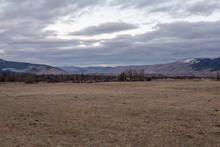 Vast Rolling Hills Behind A Lo...