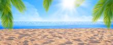 Summer Tropical Sand Beach ,Su...