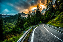 Country Road At The European A...