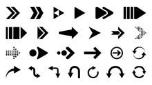 Arrows Vector Icons Set. Arrow...