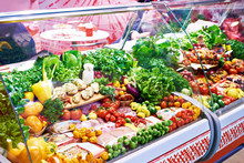 Vegetables And Meat Products O...