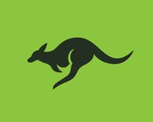 Fast Jump Kangaroo Logo Design Inspiration