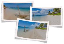 Collage De Photographies, Plage Du Morne, île Maurice