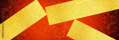 Photo 金と赤の背景素材