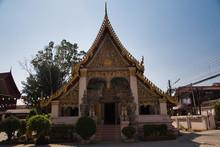Tempel In Chiang Khan