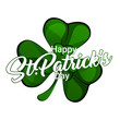Saint Patricks day background. Simple banner for the site, shop, magazine promotions. Banner with place for text.