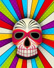 Vector Sugar Skull