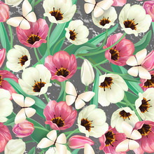 Seamless Spring Background Of ...