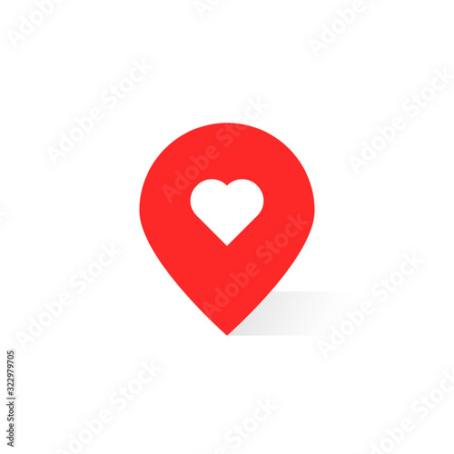 pin pointer like favorite place