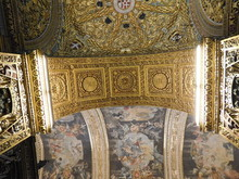 Golden Arch Of The Malta Cathe...
