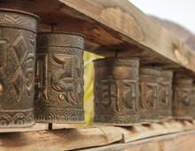 Tibetan Prayer Wheels Inside T...