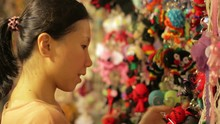 Chinese Young Woman Shopping A...