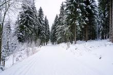 Winterland Im Erzgebirge In Sa...