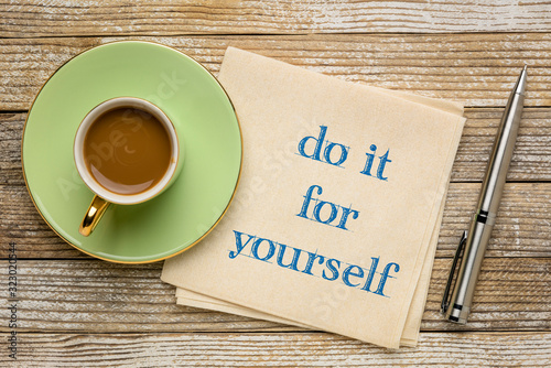 Cuadros en Lienzo do it for yourself inspirational note