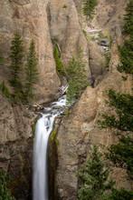 Tower Falls Long Exposure In Y...