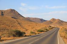 Carretera Costa Almería Curva...
